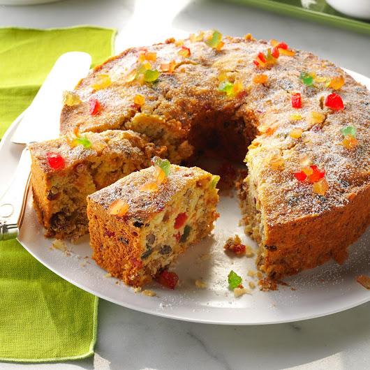 الكيكة الهشة